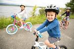 Tupper Lake Summer Family Biking