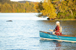 Saranac Lake Fall Paddling
