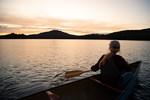 Saranac Lake Fall Paddling