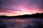 Schroon Lake Snowshoeing