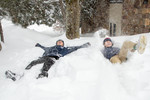 Lake Placid Main Street Snow Day