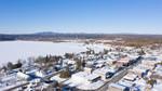 Tupper Lake Winter Aerials