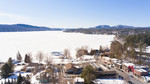 Schroon Lake Winter Aerials
