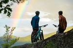 Otis Mountain Biking Rainbow