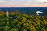 Tupper Lake Hiking Mt Arab Aerials