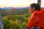 Lake Champlain Region Fall Hiking