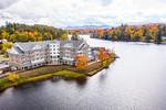 Saranac Lake Waterfront Lodge Aerials