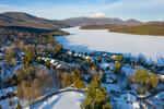 LP Snowy Town Drone